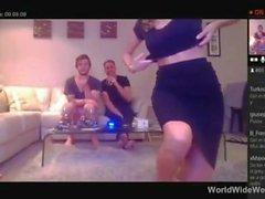Hot n Horny Party Girl sucking guys dick @ WorldWideWeb247