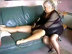 Amador BBW Granny fodido