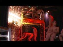 Молодые Гей Сперма Едоки оргия - Сцена 2