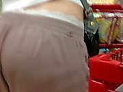 Sexy milf vpl ass exposed white panties