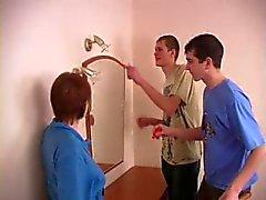 Zwangere Russische tiener