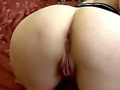 Horny 50plus blonde housewife toys asshole