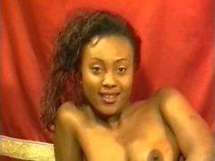 French Ebony Gangbang