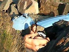 Dold kamera bilder av Beach könet