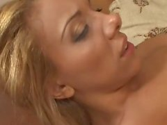 Tgirl gets boned in a wild threesome
