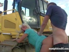 Drama at Construction Area