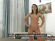 Hot student spanking hard