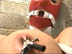 Summer Cummings - Red del lattice , servitù , del bavaglio anelli