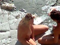 Halka açık beach.Sexual oyunlar hakkında Röntgenci