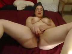 Nympho Slut Chubby Ados GF masturber comme un fou