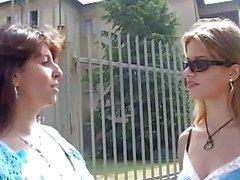 Adolescente italiano tem um velho professor