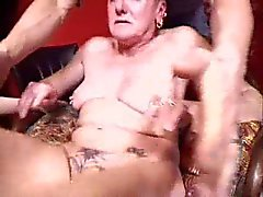 SUPER Ugly Pierced FRENCH GRANNY Fisted