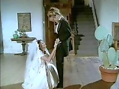 Лесбиянки белый свадебный