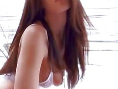 19 Jahre alt Natürliche Große Brüste Teen wird Covered In Creme 12.01.16