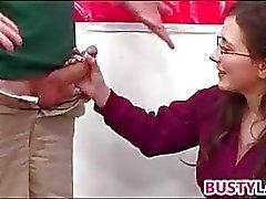 Laseja kuluminen tyttö ei Turistibussit
