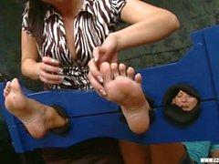 Sandra a adoré les pieds de Jana Cova