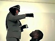 l'amante Uniform cumdrenching lo schiavo nera