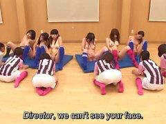Subtitled ENF CFNF japanilaiset lentopalloa konsernin rangaistuslaukauksesta HD