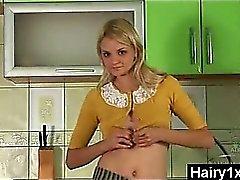 Kähärä puhaltaa muista Hairy Teinit Hardcore porno