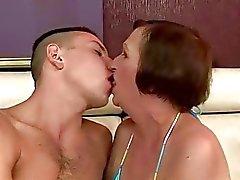 Mamma och pojke sex hot