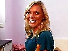 Allie Kay eerste keer ooit op camera