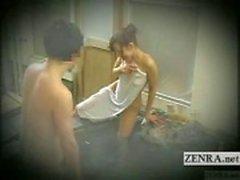 Altyazılı Japon utangaç teşhirci banyo meydan