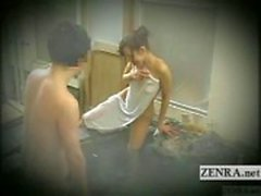 Legendado desafio banho japonês tímido exibicionista