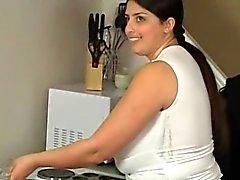Süßen Big Boob Araber Dicke Frauen Mütter Wiedergabe