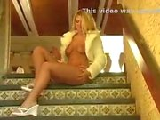 Alison Angel caught mastubate nude public