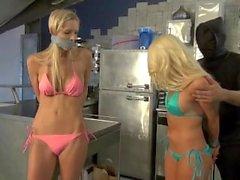 Bound Bikini blondes