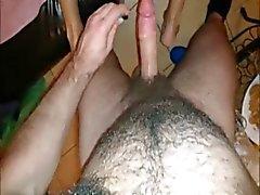Amateur Russa Threesome boquete e Sexo Anal