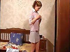 Spionera på en babysitter flickvän