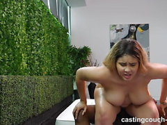 Horny 18 Year With Big Natural Tits Puts Out To Get Casting