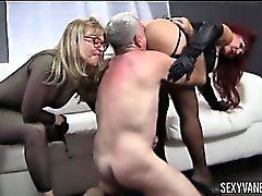 Nina Хартли , Сексуальное Ванессой и Сойка Crew горячего жопа Ликинг