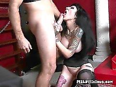 Wild Mature Hoe Freyja Van Siren Gets Banged Hard