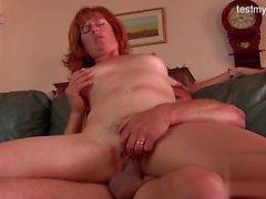 Mature redhead milf