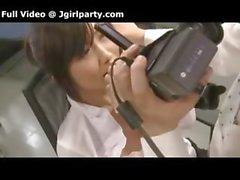 Японского Boss Films себя со своим Slutty секретарь