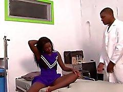 Della ragazza pon pon Slim Per le suo medico ha ... F70