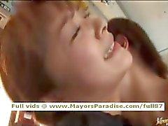 Mihiro oskyldigt Kinesisk flicka har ett fucking i bussen