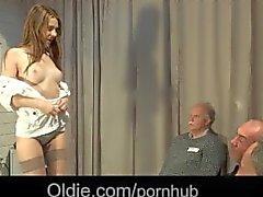 5 старое деды Порево Хочу ширину противная молодая блондинка