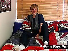Twink movie of Brent Daley is a ultra-cute ash-blonde emo st