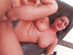 Brunette hottie Charley gets a rough fucking