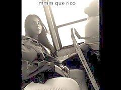 Hechandome Una manita in EL Otras de autobuses MIENTRAS mí el Ven