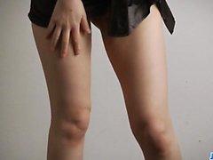 Amazing solo poseeraa yhdessä alusvaatteet kauneus Yuria