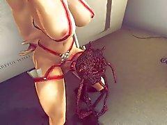 3D Oblivion Самца - Целуют Меня