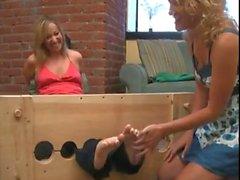 Ball-Gagged Tickle