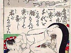 Japanese di arte vintage Ukiyoe