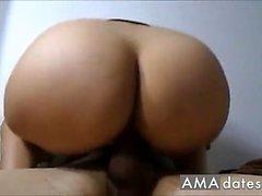Girlfriend Has A Big Ass! (Amateur Couple)