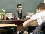 Gay sex The nice twinks are still in the classroom after eve