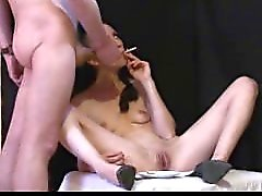 Curvy Kuumat äidin Sylvia Chrystall Smooth Facefuck sekä EVE 120 Smoking Fetish